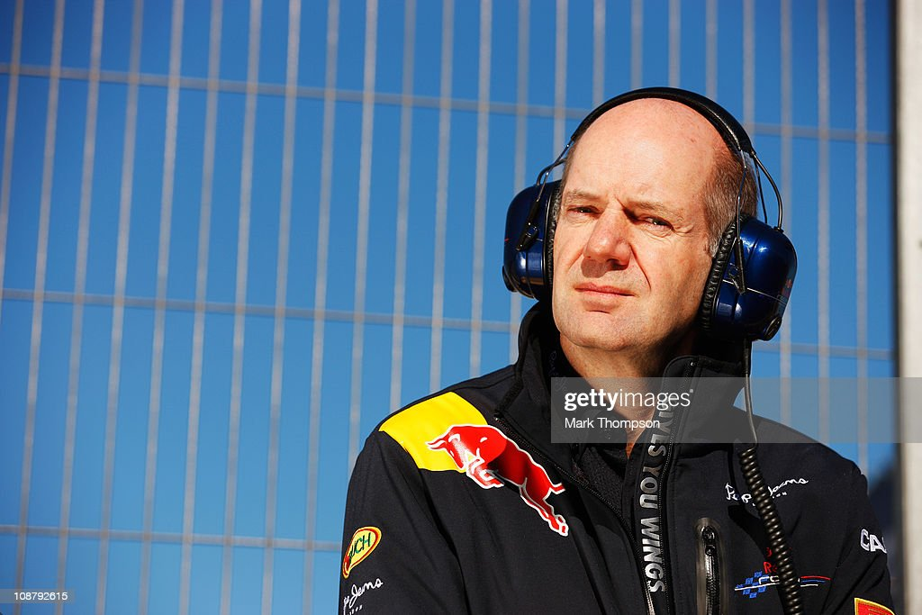 F1 Testing in Valencia - Day Three : News Photo
