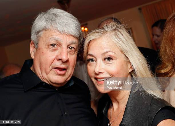Chief Washington correspondent for The New York Times Carl Hulse and American pundit Hilary Rosen attend an event to celebrate Hulse's new book...