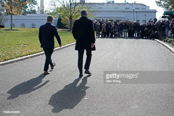 CNN chief White House correspondent Jim Acosta returns to the White House with CNN Washington bureau chief Sam Feist after Federal judge Timothy J...