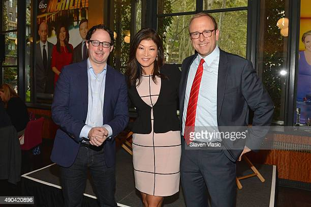 Chief White House Correspondent of ABC News Jonathan Karl ABC News Nightline Host Juju Chang and Statistician Author and Founder of FiveThirtyEight...