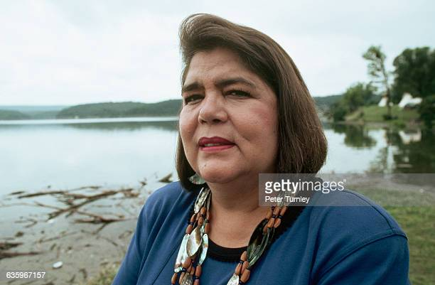 Chief Wilma Mankiller, of the Cherokee Nation.