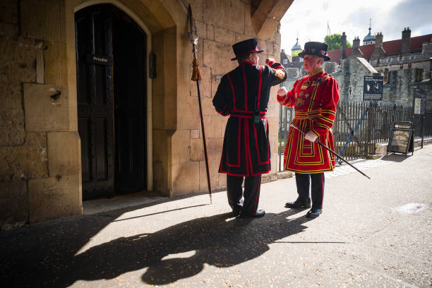 GBR: The Tower Of London Reopens To The Public After Coronavirus Lockdown