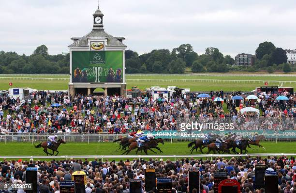 Chiefofchiefs ridden by Steve Donohue wins The John Smith's Racing Stakes at York Racecourse on July 15 2017 in York England