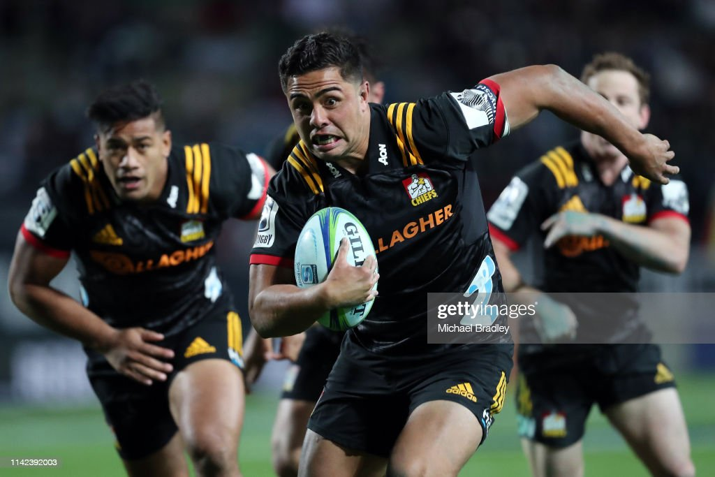 Super Rugby Rd 9 - Chiefs v Blues : News Photo
