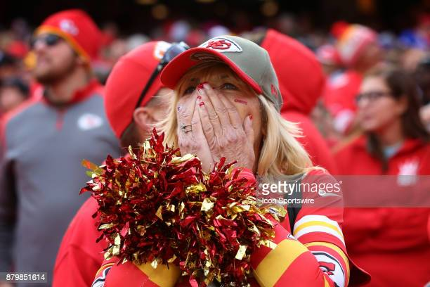 Chiefs fan can't believe her Chiefs lost after an interception by Buffalo Bills cornerback Tre'Davious White late in the fourth quarter of a week 12...