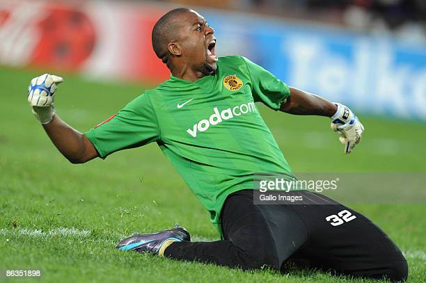 Chiefs goalkeeper Itumeleng Khune during the Absa Premiership match between Orlando Pirates and Kaizer Chiefs from Coca Cola Park on May 2, 2009 in...