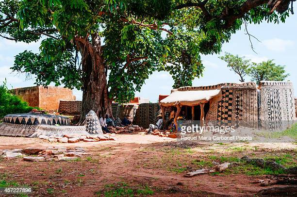 Chief´s house Tiebele Gourounsi country Burkina Faso