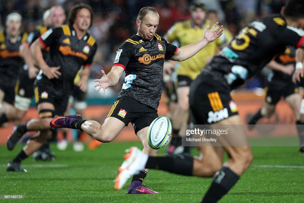 Super Rugby Rd 19 - Chiefs v Hurricanes : News Photo