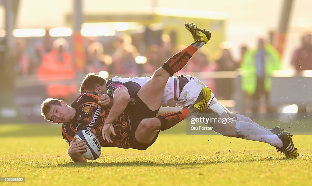 Exeter Chiefs v Ospreys - European Rugby Champions Cup : ニュース写真
