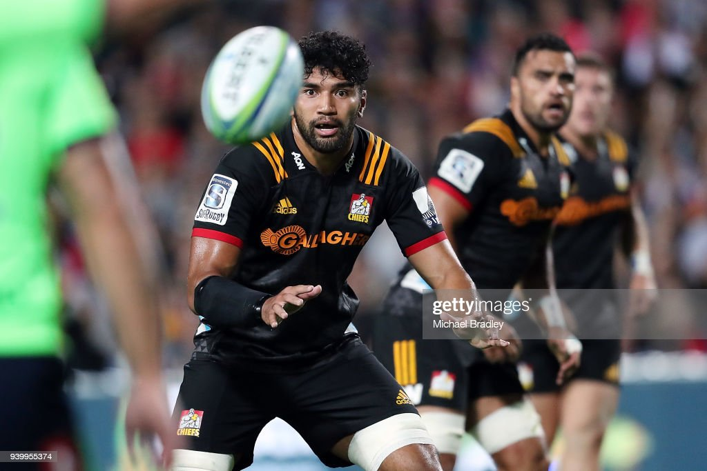 Super Rugby Rd 7 - Chiefs v Highlanders : News Photo