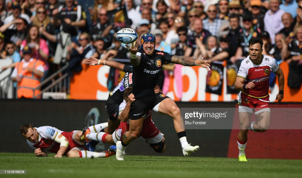 Exeter Chiefs v Northampton Saints - Gallagher Premiership Rugby Semi Final : News Photo
