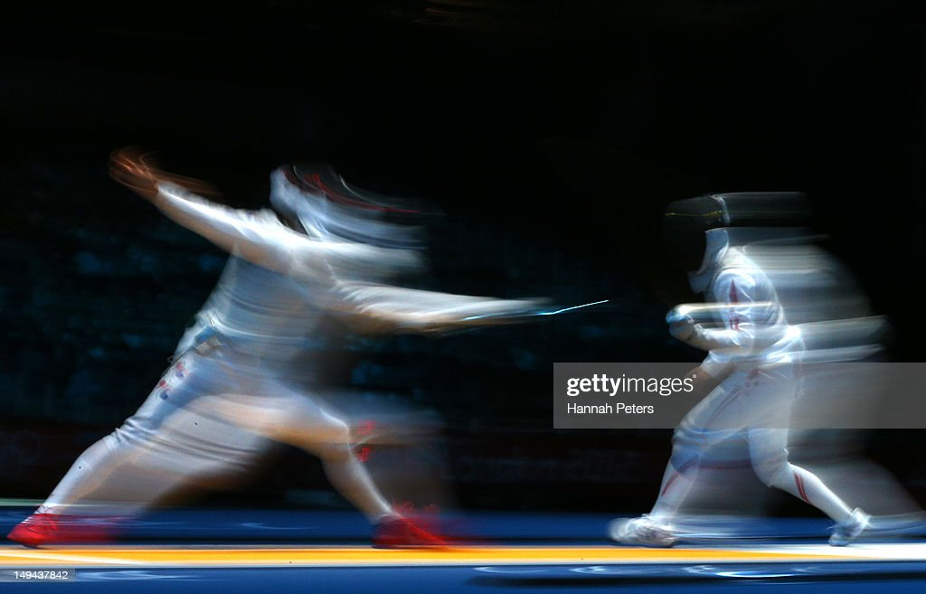 Olympics Day 1 - Fencing : News Photo