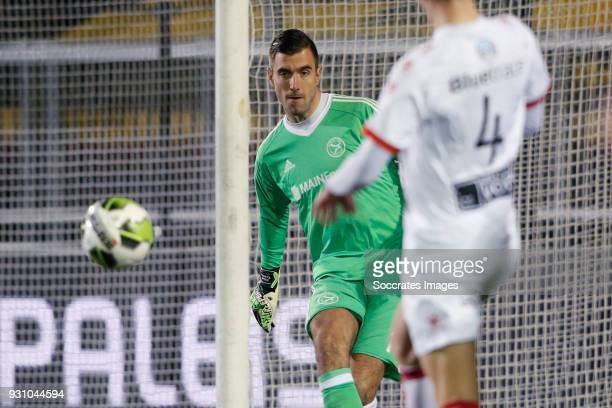 Chiel Kramer of Almere City during the Dutch Jupiler League match between Almere City v Telstar at the Yanmar Stadium on March 12, 2018 in Alemere...