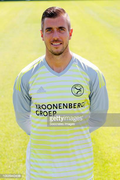 Chiel Kramer of Almere City during the Photocall Almere City at the Yanmar Stadium on July 16 2018 in Almere Netherlands