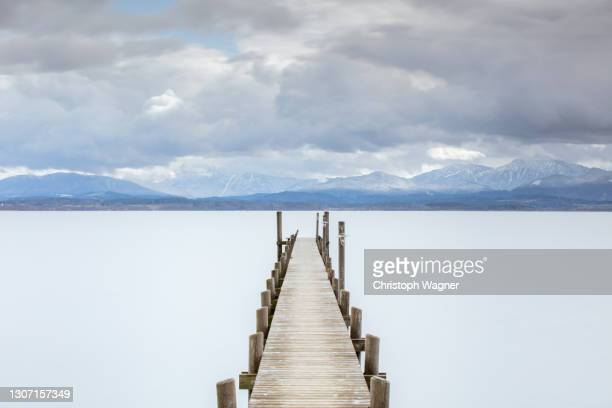 chiemsee - bayern stock pictures, royalty-free photos & images