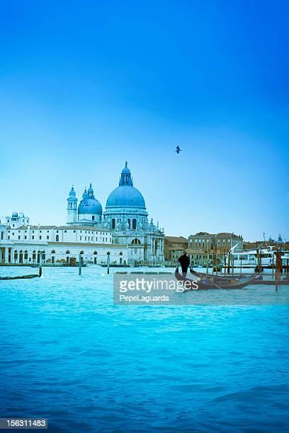 Kirche Santa Maria della Salute. Venedig-Italien.