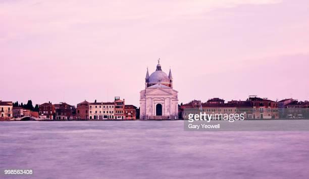 Chiesa del Santissimo Redentore Giudecca in Venice at sunset
