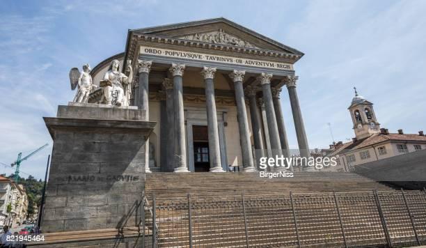 chiesa della gran madre di dio, torino, italia - turín fotografías e imágenes de stock