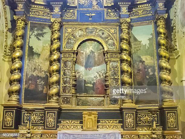 chiesa di san giovanni battista, saluzzo - saluzzo stock photos and pictures