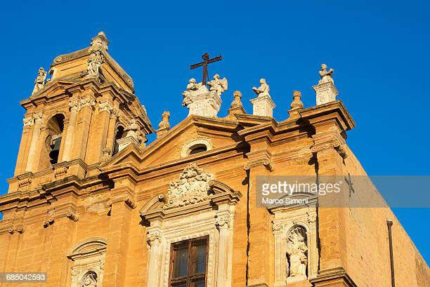 chiesa di san lorenzo, agrigento, sicily, italy - agrigento stock pictures, royalty-free photos & images