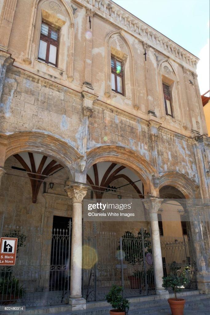 Chiesa di Santa Maria la Nova ,Palermo, Sicily, Italy : Stock Photo