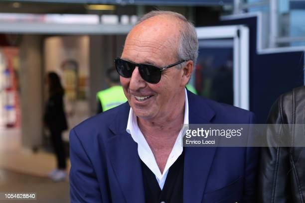 Chievo Verona's coach Gian Piero Ventura looks on during the Serie A match between Cagliari and Chievo Verona at Sardegna Arena on October 28, 2018...