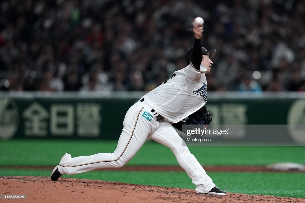 Hokkaido Nippon-Ham Fighters v Oakland Athletics : News Photo