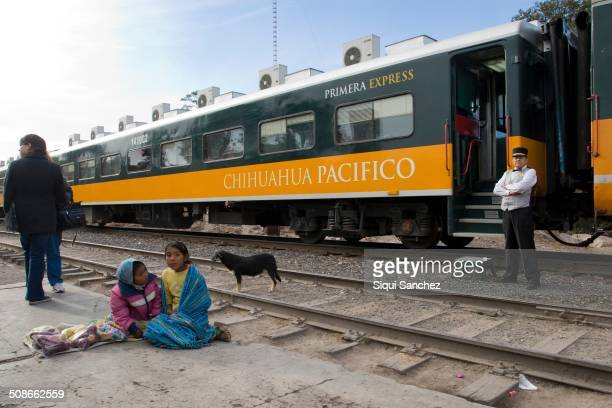 Chihuahua Pacífico train Mexico