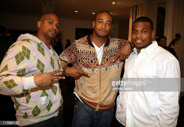 ChikeKevin Phillips and FRASE during Martell Presents Discover Noblige Los Angeles A Charitable Cultural Experience Honoring Holly Robinson Peete...