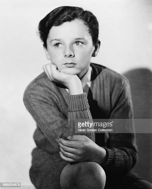 Child actor Freddie Bartholomew in a publicity still for the film 'The Devil Is a Sissy' 1936