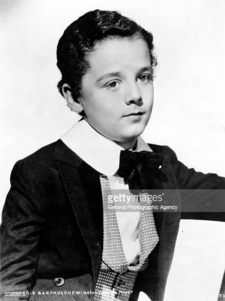 Child actor Freddie Bartholomew plays the young David in the film version of Charles Dickens' 'David Copperfield' directed by George Cukor for MGM