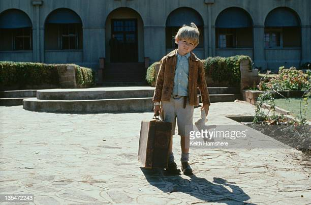 Child actor Guy Witcher as the 7yearold PK in the film 'The Power of One' 1992