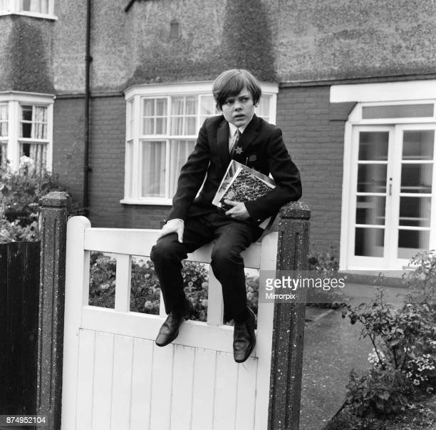 Child actor Jack Wild, who played the role of the Artful Dodger in the 1968 film 'Oliver!'. Pictured outside his home in Hounslow, 30th September...