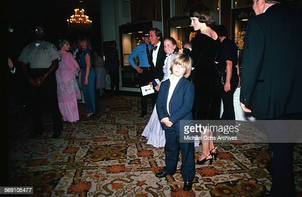 Child actor Justin Henry arrives to the 52nd Academy Awards at Dorothy Chandler Pavilion in Los AngelesCalifornia