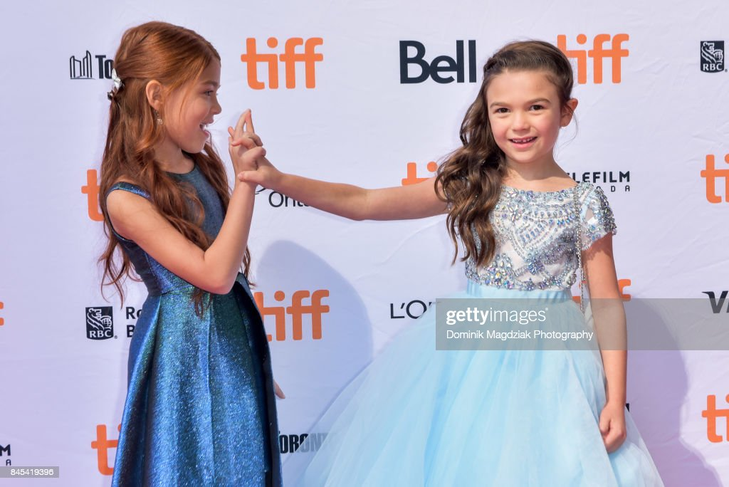 Child actresses Brooklynn Prince and Valeria Cotto attend