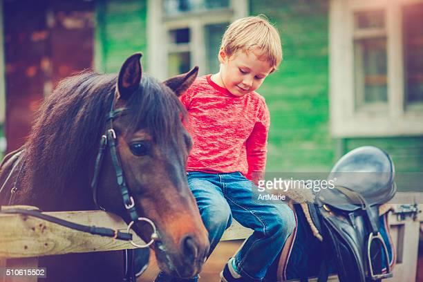 Enfant et le cheval