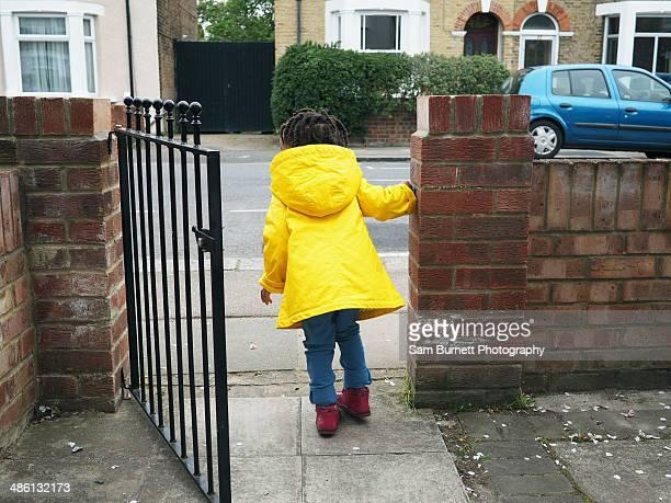 Child at gate