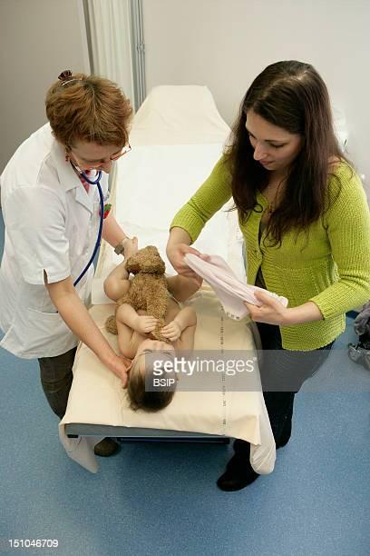 Child At Hospital Consultation