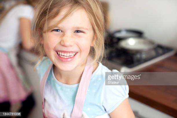 child baking at home - st. albans stock pictures, royalty-free photos & images