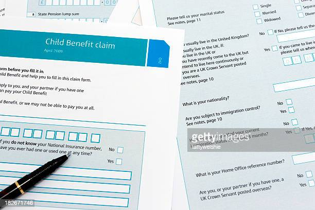 Child benefit form
