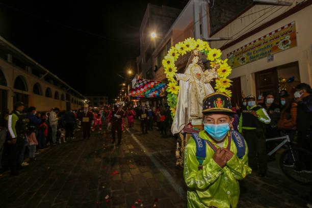 ECU: Virgin Of Mercy Festivity In Latacunga