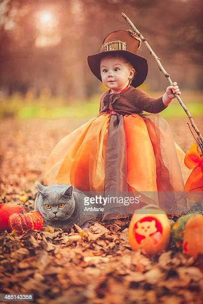 Enfant fête d'Halloween