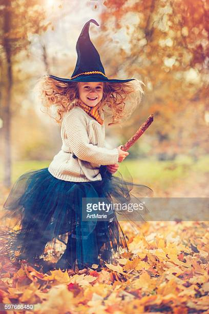 Kind Feiern Halloween