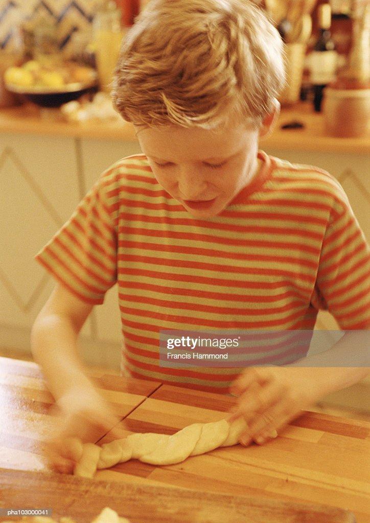 Child cooking : Stockfoto