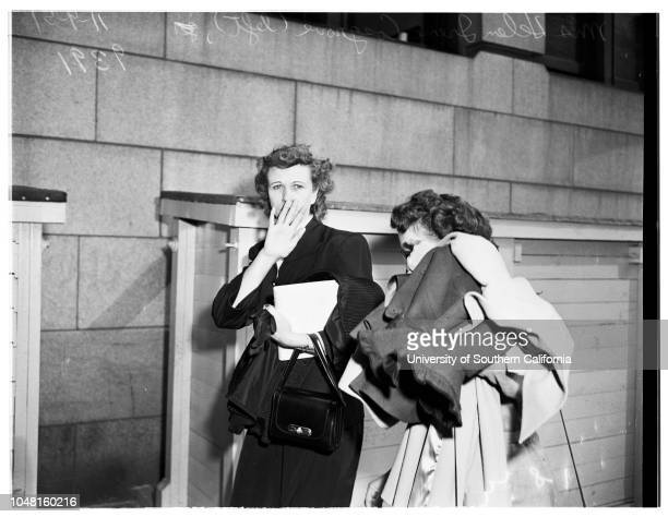 Child custody case 9 November 1951 Joan Lee Ervin Mother of VickiVicki Dianne Cosgrove 3Mrs Helen Irene Cosgrove Grandmother