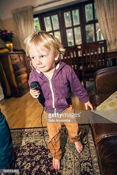 Child dancing and singing