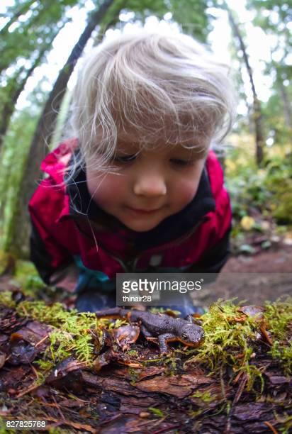 Onderzoek kind-newt