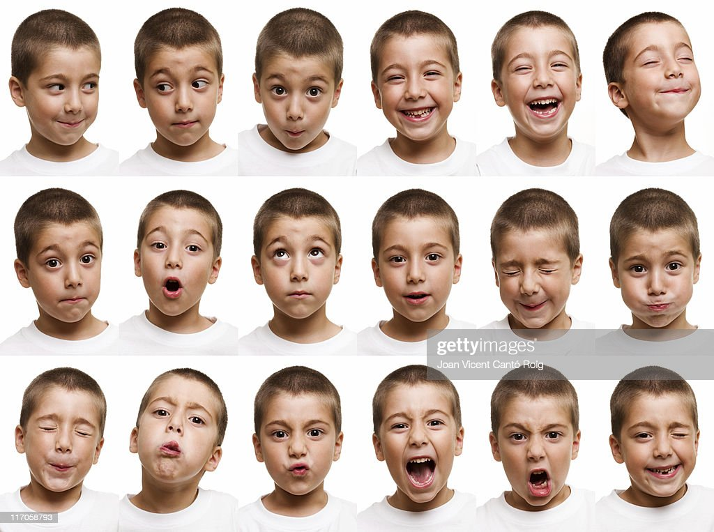 Child faces : Stock Photo