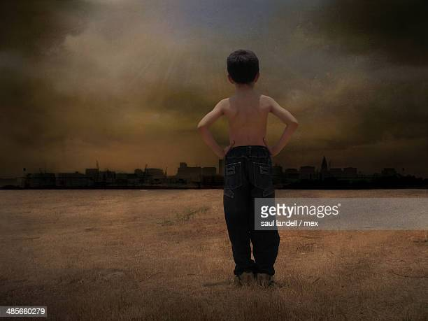 Child from the dark city