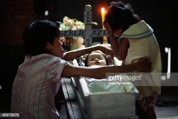 Child funerals on Negros Island